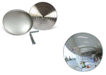 Espelho Panorâmico em Alumínio