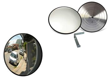Espelhos Panorâmicos Emborrachados