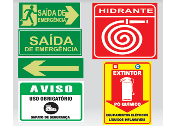 PLACAS DE ROTAS DE ABANDONO E RISCO DE EXPOSIÇÃO A PRODUTOS QUÍMICOS