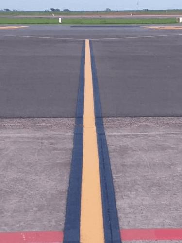 Faixas para Sinalização de Ruas de Aeroportos