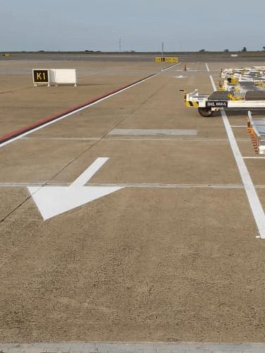 Setas de Sinalização para Aeroportos