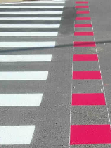 Pintura Sinalizadora para Pedestres em Rua
