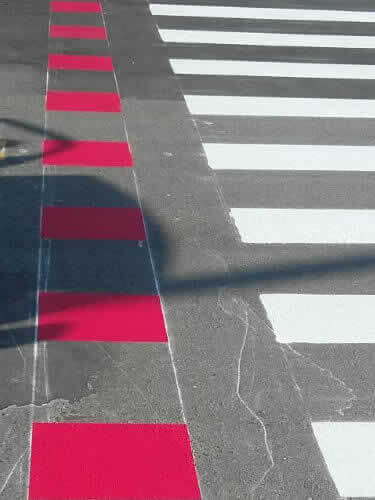 Sinalização para Pedestres