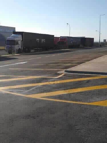 Sinalização de Trâsito Amarelos para Estacionamento