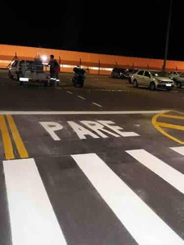 Sinalizadores Tintas Pare e Pedestres