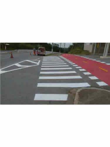 Sinalizadores para Ciclovias com Faixas de Pedestres