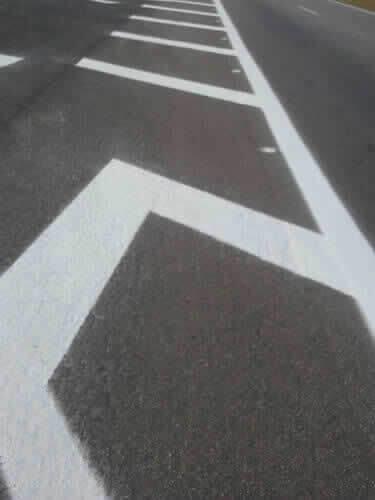 Faixa Branca para Sinalização de Trânsito