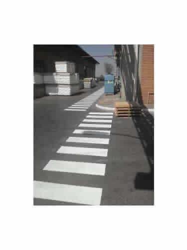 Sinalizadores de Trânsito Faixa de Pedestre Fina