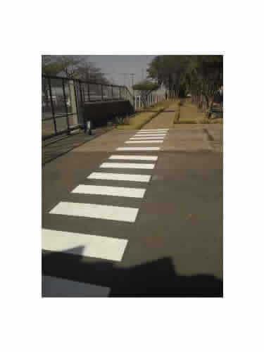 Sinalizadores de Trânsito Faixa de Pedestre Grande