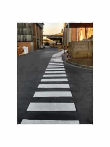 Sinalizadores de Trânsito Faixa de Pedestre Pequena
